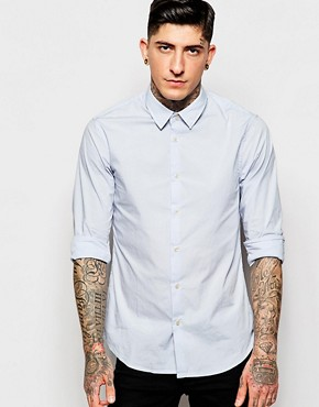 Scotch & Soda Crisp Stretch Shirt