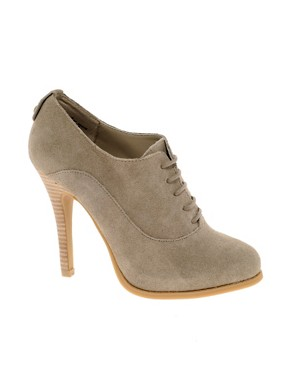 Image 1 ofChinese Laundry Lannie Suede Lace-Up Shoe Boot
