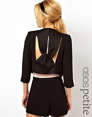 ASOS PETITE Exclusive Blazer With Studs