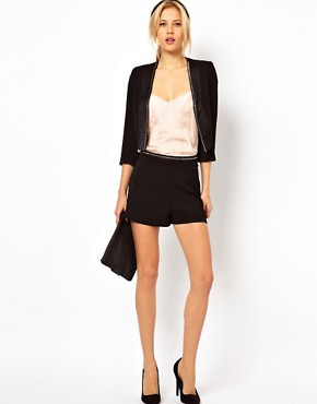 Image 4 of ASOS PETITE Exclusive Blazer With Studs