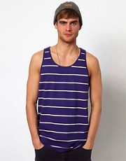 Selected Vest With Stripe