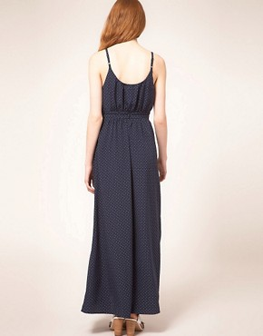Image 2 ofWhistles Stevie Triangle Spot Maxi Dress