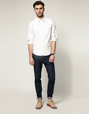 Image 4 ofLevis Oxford One Pocket Long Sleeve Shirt