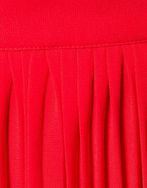 Image 3 ofWarehouse Pleated Maxi Skirt
