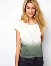 Glamorous Slouchy T-Shirt in Dip Dye