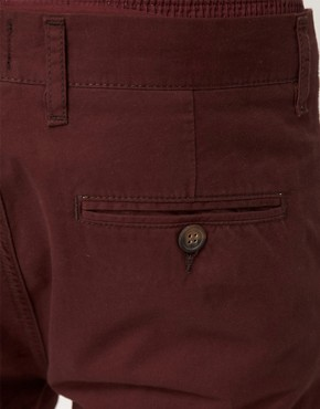 Image 3 ofASOS Slim Chinos With Turn Up