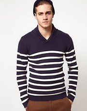 Jack & Jones Sweater with Shawl Neck