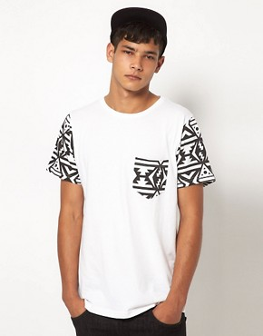 Image 1 of My Yard T-Shirt with Aztec Sleeves
