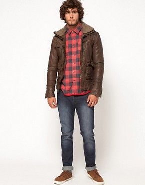 Image 4 ofSuperdry Tarpit Leather Jacket