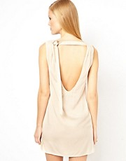 Factory by Erik Hart Shift Dress With Open Back