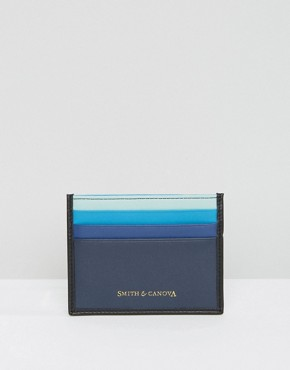 Smith And Canova Card Holder in Rainbow