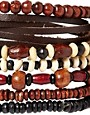 Image 4 ofASOS Leather Mixed Bracelet Pack