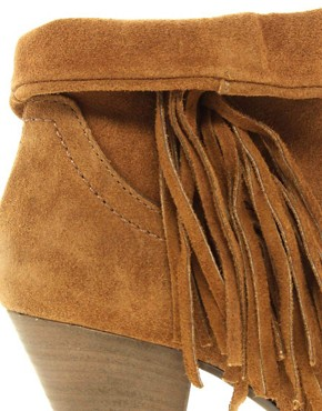 Image 2 ofSteve Madden Pistoll Fringed Western Boots