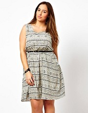 New Look Inspire Aztec Pocket Dress