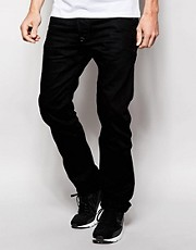 Vaqueros de corte slim en color negro Darron 8QU de Diesel