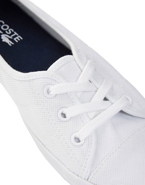 Image 2 ofLacoste Ziane Chunky White Plimsolls