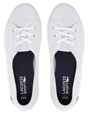 Image 3 ofLacoste Ziane Chunky White Plimsolls