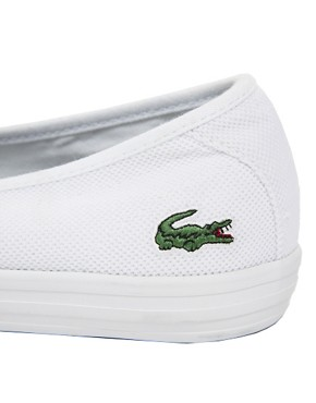 Image 4 ofLacoste Ziane Chunky White Plimsolls