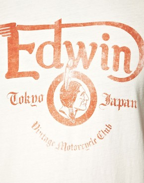 Image 3 ofEdwin Vintage Logo T-Shirt