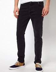 ASOS Skinny Jean In Washed Black