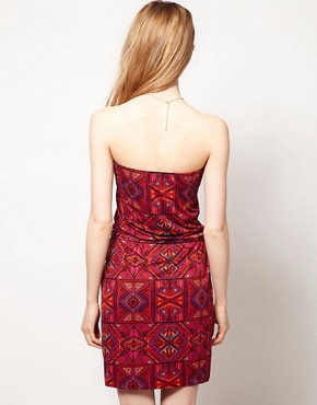 Image 2 ofWarehouse Ikat Print Dress