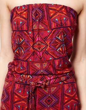 Image 3 ofWarehouse Ikat Print Dress
