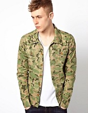 Scotch &amp; Soda Jacket With Camo Print