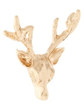 Image 3 ofWildfox Stag Earrings