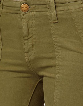 Image 3 ofCurrent/ Elliot Combat Skinny Jeans In Army