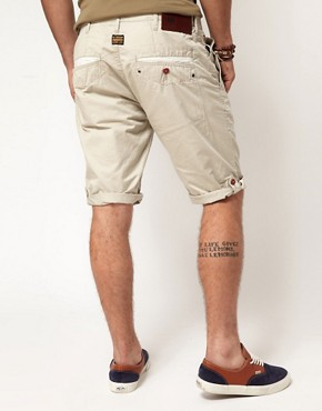 Image 2 ofG Star Correct Line New Bronson Chino Shorts