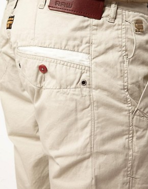 Image 3 ofG Star Correct Line New Bronson Chino Shorts