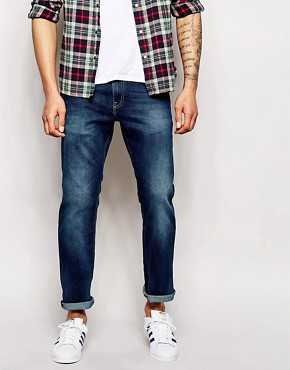 Tommy Hilfiger Slim Jeans in Mid Blue Wash
