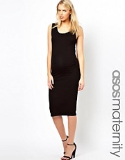 ASOS Maternity Body-Conscious Midi Dress