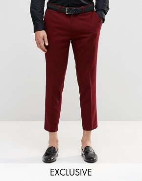Only & Sons Skinny Cropped Trousers with Stretch