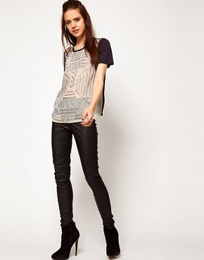 Image 4 of ASOS Tunic with Graphic Embellishment