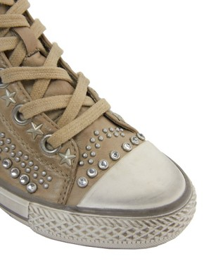 Image 2 ofAsh Vibration Stud High Top Trainers