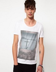 ASOS - T-shirt con stampa fotografica