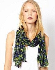 Whistles Tropical Print Scarf