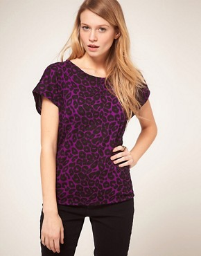 Image 1 ofMotel T-Shirt in Leopard Print