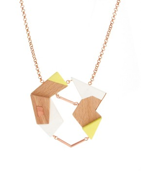 Image 1 ofAda Zanditon Exclusive To ASOS Short Necklace