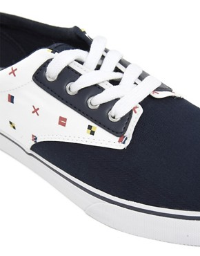 Image 2 ofLacoste L!VE Barbados Plimsolls