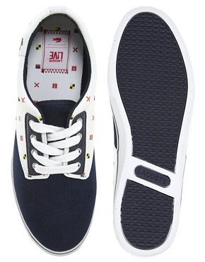 Image 3 ofLacoste L!VE Barbados Plimsolls