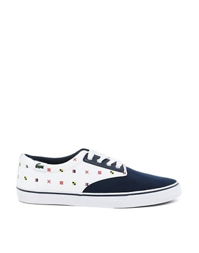 Image 4 ofLacoste L!VE Barbados Plimsolls