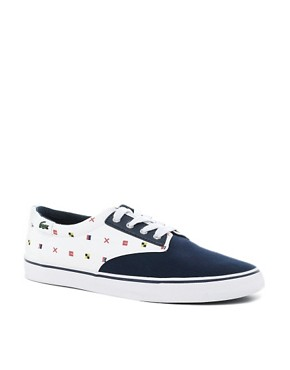 Image 1 ofLacoste L!VE Barbados Plimsolls