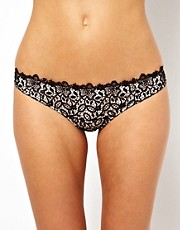 ASOS Boudoir Corded Lace Thong