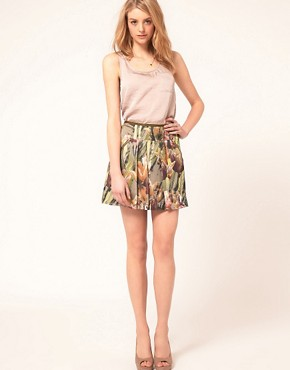 Image 1 of Ted Baker Tulip Print Skirt