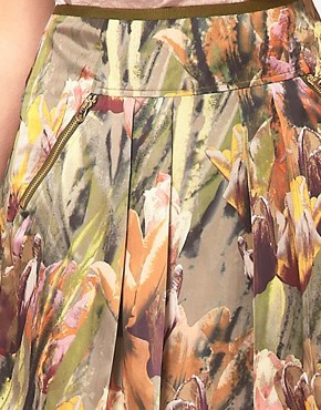 Image 3 of Ted Baker Tulip Print Skirt