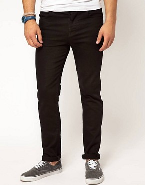 Image 1 of ASOS Skinny Black Jeans