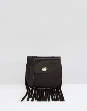 ASOS Leather Purse Necklace