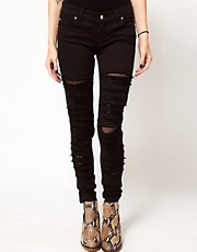 Tripp Nyc Tear It Up Skinny Jeans